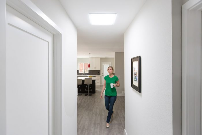 Solatube Lighting in Hallway