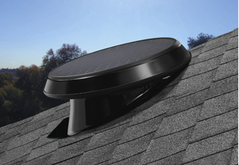 Pitched Roof Solar Attic Fan