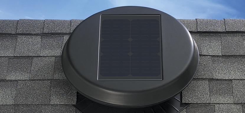 16 Watt Solar Attic Fan