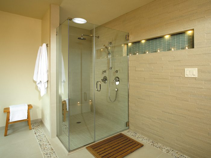 Shower Daylighting