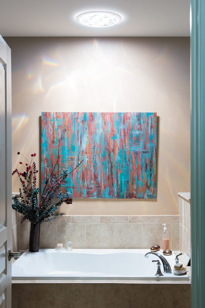 Fun Bathroom Daylighting
