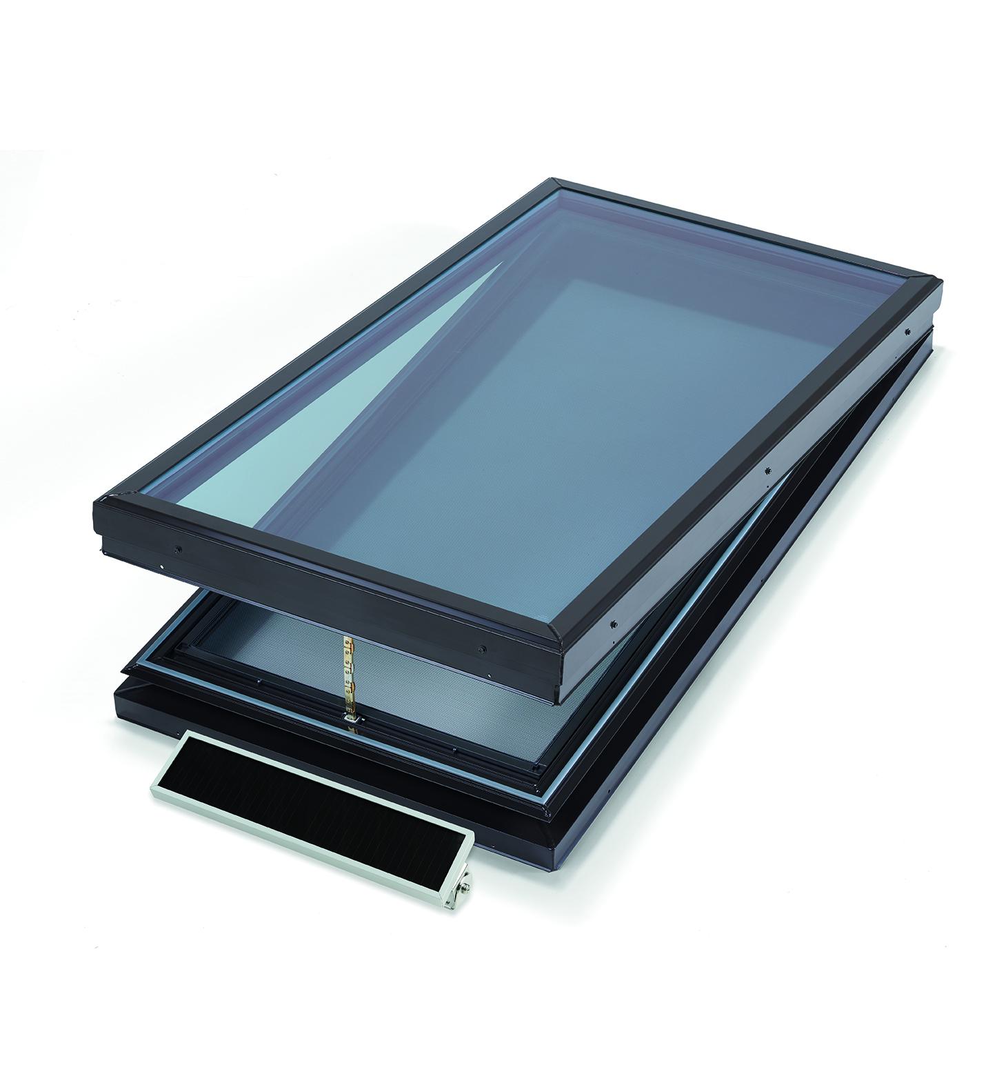 Operable Glass Skylight in Whittier, CA